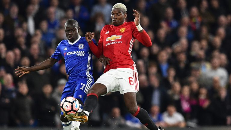 Jose Mourinho insists Paul Pogba was the best player on the pitch on Monday