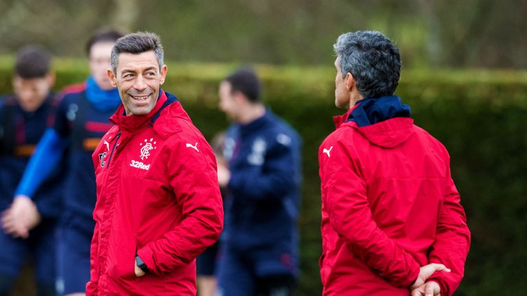 Rangers manager Pedro Caixinha has learned what the phrase 'square go' means