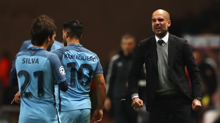 Pep Guardiola's side were knocked out of the Champions League by Monaco last season