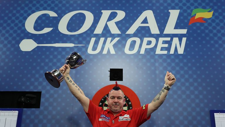 Peter Wright is the reigning champion in Minehead