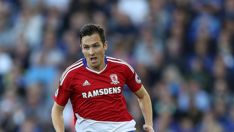 Stewart Downing is allowed to leave Middlesbrough on a free transfer