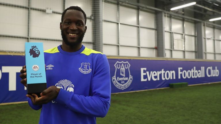 Romelu Lukaku the goal machine
