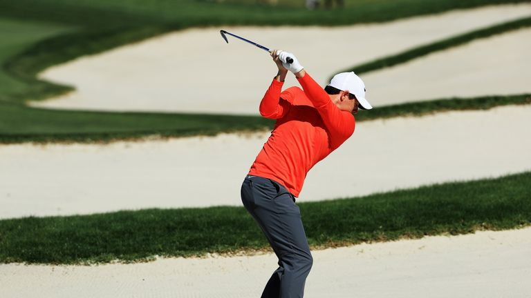McIlroy did make four birdies but his card was littered with mistakes