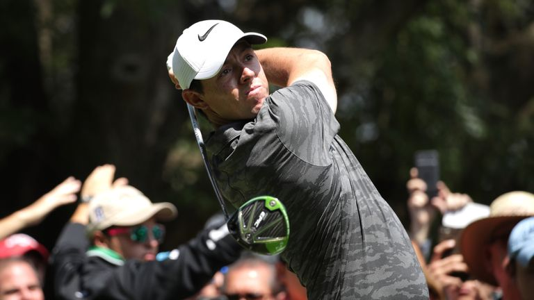 Rory McIlroy will be encouraged by a top-10 finish in his first start for six weeks