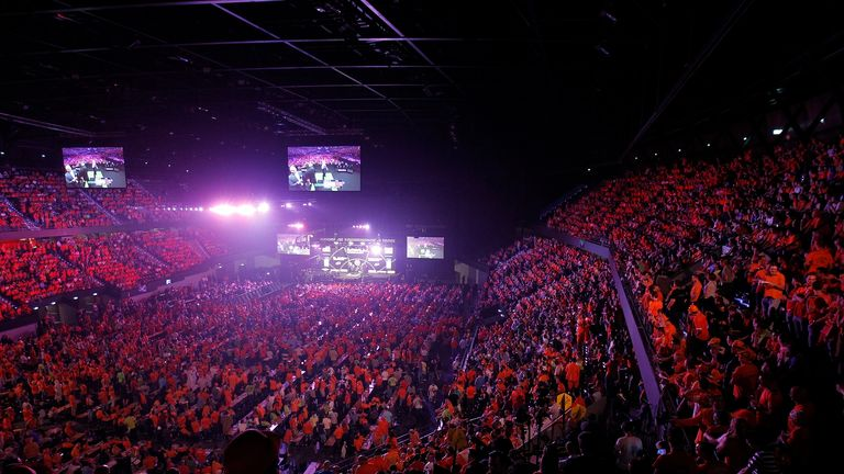 Rotterdam's Ahoy Arena will be a sea of orange again on Thursday night as the Premier League returns