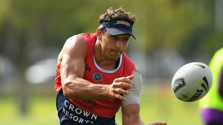 Billy Slater is expected to play against Brisbane on Thursday