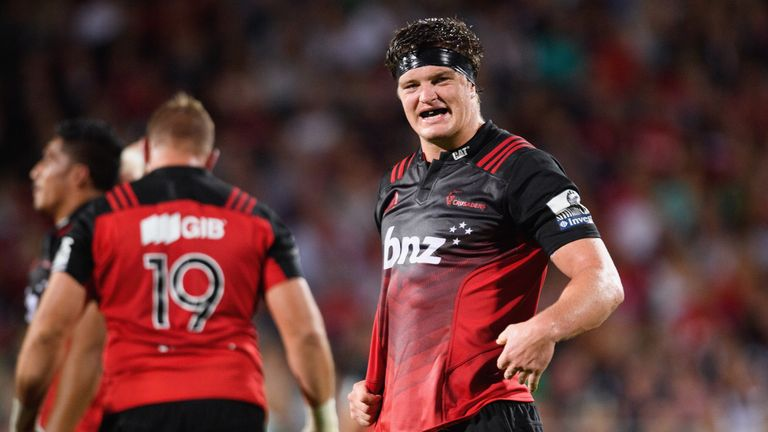 Crusaders lock Scott Barrett