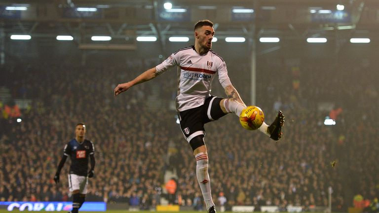 Malone doubled Fulham's advantage after 30 minutes