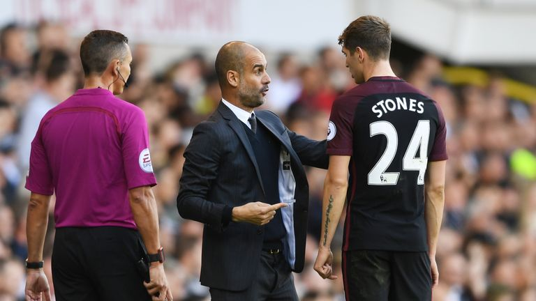 Pep Guardiola's tactics make Manchester City vulnerable at the back according to Fabio Borini