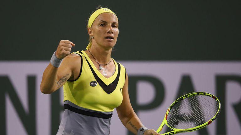 Svetlana Kuznetsova  reaches her third final at Indian Wells