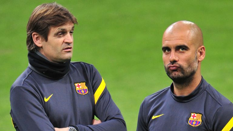 Barcelona have previously had success when an assistant has taken over from a manager - Tito Vilanova succeeded Pep Guardiola