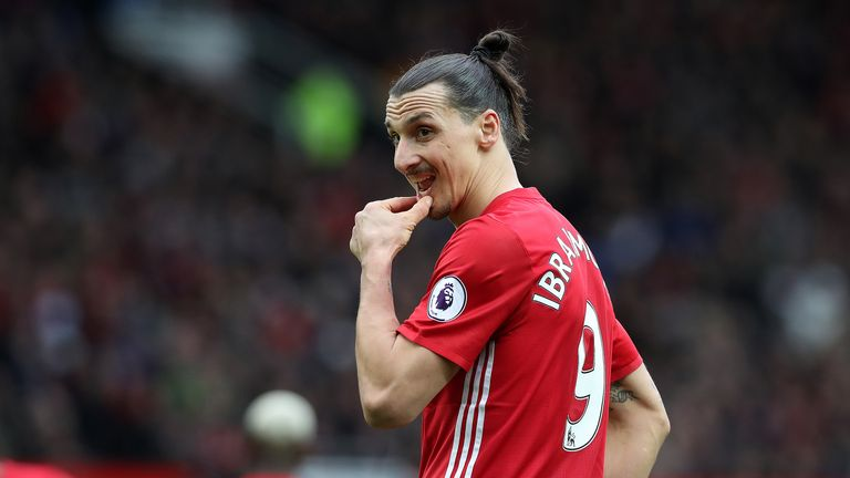 Zlatan Ibrahimovic will be available again amid his domestic ban