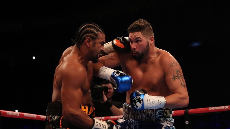 Bellew stopped Haye in the 11th round in March