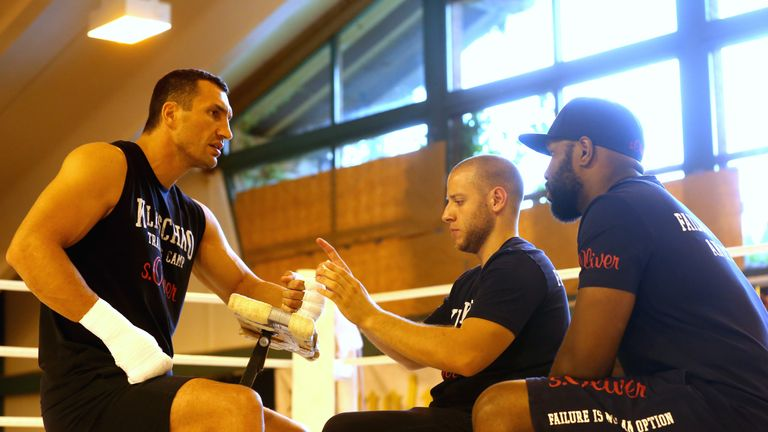 Klitschko is back at his Austrian training camp
