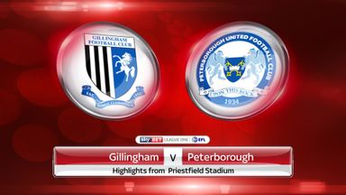 Gillingham 0-1 Peterborough