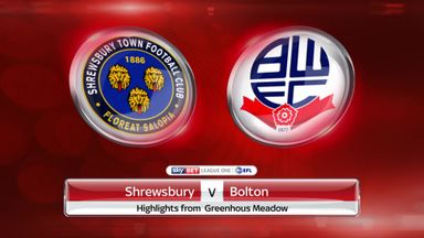 Shrewsbury 0-2 Bolton