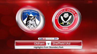 Oldham 1-1 Sheff Utd