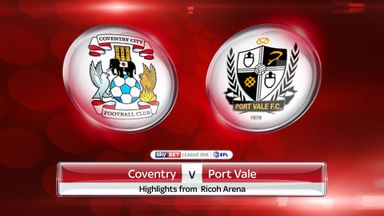 Coventry 2-1 Port Vale