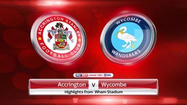 Accrington 2-2 Wycombe