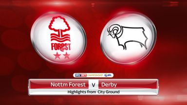 Nottm Forest 2-2 Derby