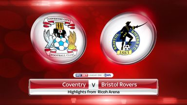 Coventry 1-0 Bristol Rovers