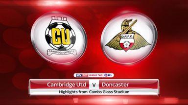 Cambridge 2-3 Doncaster