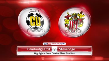 Cambridge 0-0 Stevenage
