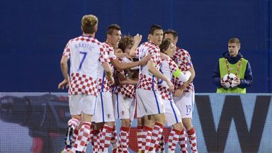 Croatia edged past Ukraine with a 1-0 victory