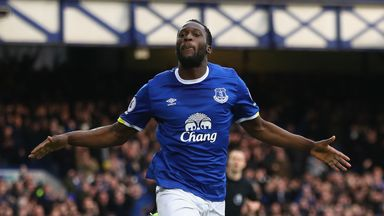 Romelu Lukaku is the top scorer in the Premier League this season with 21 goals