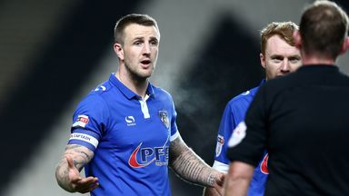 Peter Clarke: Signs new Oldham deal