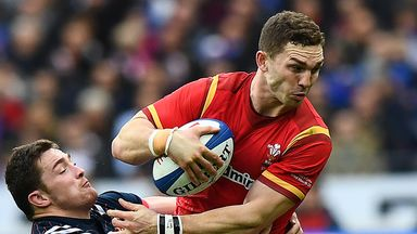 George North sustained the injury during Northampton's defeat by Saracens in the Champions Cup