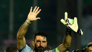 It was a landmark night for Gianluigi Buffon in the Italy goal