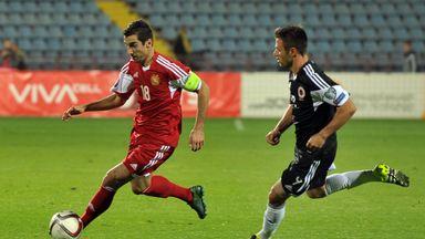 Henrikh Mkhitaryan struck his 20th international goal as Armenia beat Kazakhstan