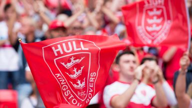 Hull KR fans have shown their support despite the club being relegated