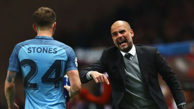 Pep Guardiola has been highlighting the qualities of John Stones