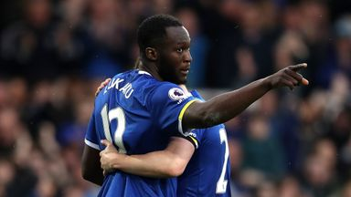 Romelu Lukaku is enjoying a superb campaign for Everton