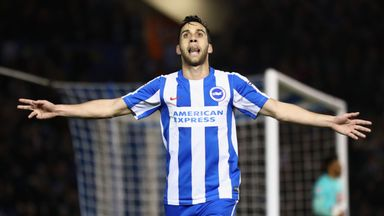 Sam Baldock has signed a new three-year deal with Brighton
