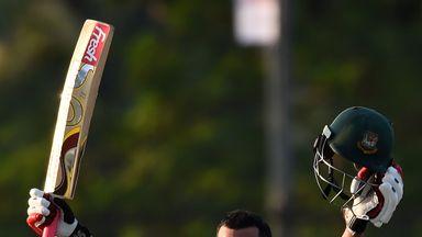 Tamim Iqbal made 127 as Bangladesh racked up 324 in the first ODI against Sri Lanka