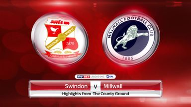 Swindon 1-0 Millwall