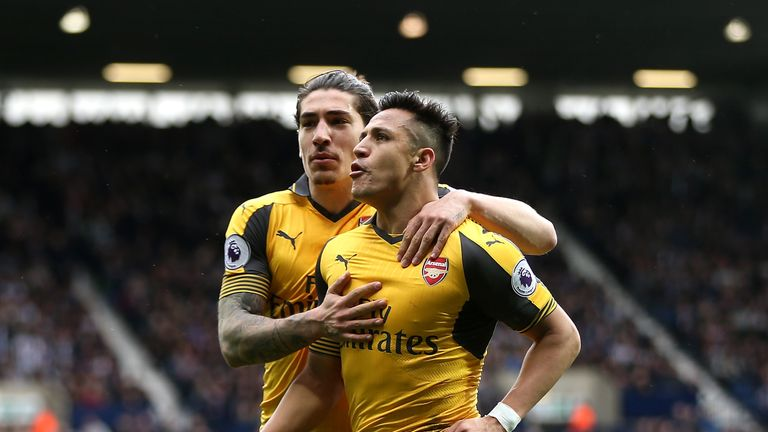 Francis Cagigao recommended the signings of Alexis Sanchez and Hector Bellerin (pictured), as well as Santi Cazorla