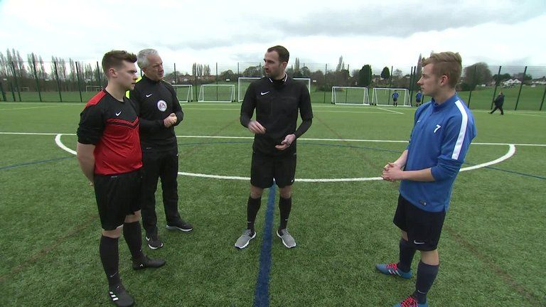 As part of Support The Ref week on Sky Sports, Danny Higginbotham is put through his paces as he looks to become a referee...