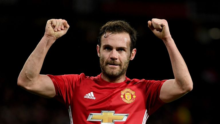 Juan Mata and his United team face nine games in April