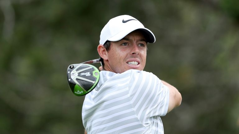 Rory McIlroy during the first round of the 2017 Dell Match Play at Austin Country Club