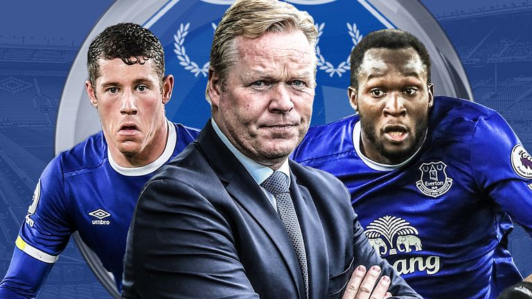 Barkley, Koeman and Lukaku