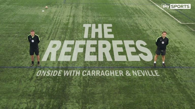 Coming soon to Sky Sports... The Referees