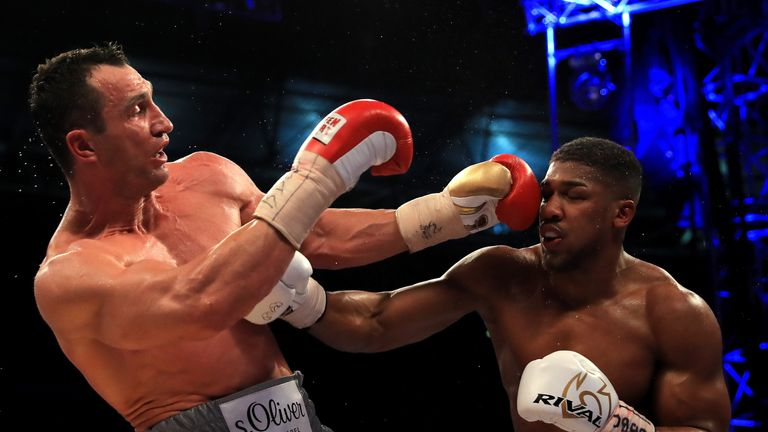 Joshua had a couple of pressure moments on his way to beating Klitschko at Wembley