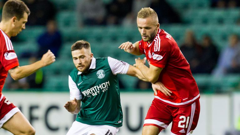 Hibernian and Aberdeen last met in the third round of the Scottish League Cup in 2015