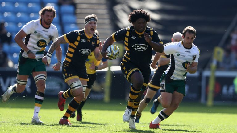 The versatile Ashley Johnson starts at hooker for Wasps