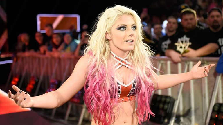 Bliss has promised to take the Women's Division by storm on RAW.