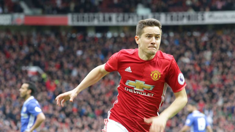 Ander Herrera was pivotal in United's victory over Chelsea including scoring the second goal